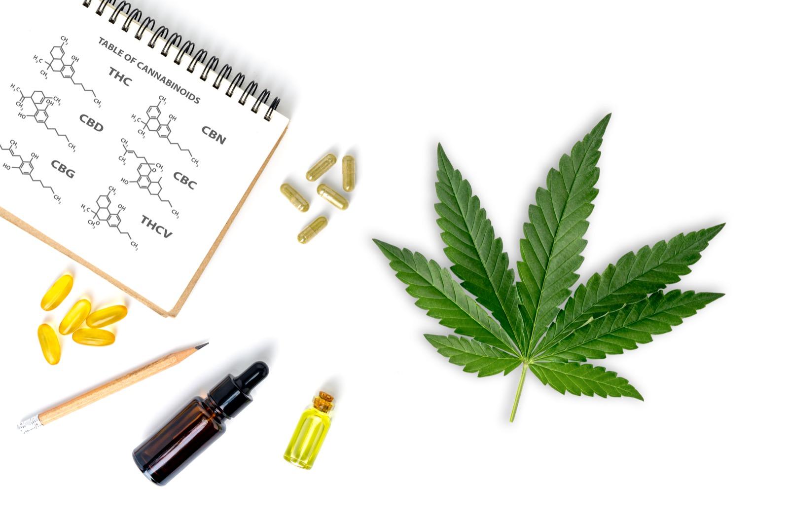 Δ-9 TETRAHY DROCANNABINOL OR THC
